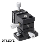 Three-Axis Miniature Dovetail Translation Stage