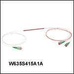 Wavelength Division Multiplexers: 1050nm / 635 nm