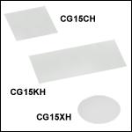 Precision Cover Glasses, #1.5H (170 µm) Thickness<br>
