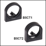 Cage Cube Optic Mounts with SM1-Threaded Bore