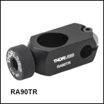 Ø1/2in to Ø6 mm Right-Angle Post Clamp