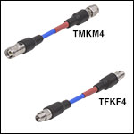 2.4 mm-to-2.92 mm Microwave Adapter Cables
