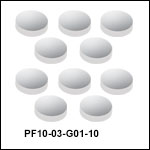 Packages of 10 Aluminum Mirrors