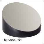 Ø3in Off-Axis Parabolic Mirrors, Protected Silver Coating