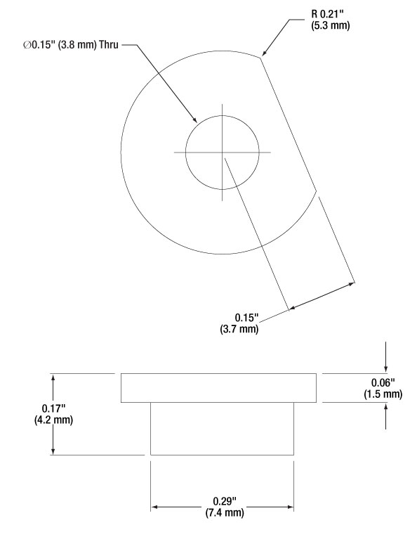 Flexure Stage Accessories Top Plates