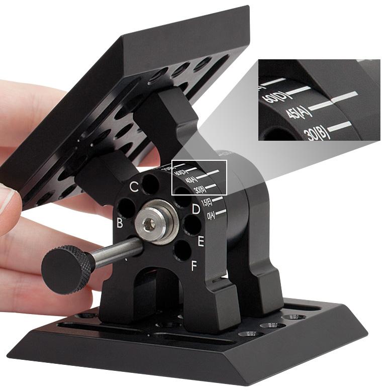 Adjustable Angle Mounting Plate
