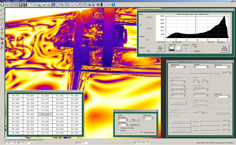 Kiralux™ Polarization Camera with 5 0 MP Monochrome CMOS Sensor
