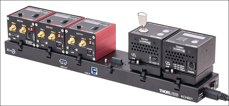 100 mm Linear Translation Stage, Direct-Drive Servo Motor