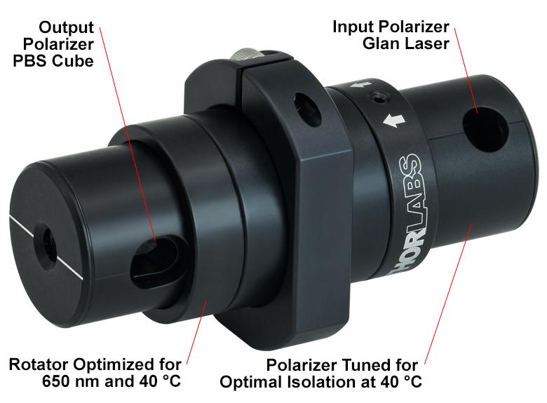 Fiber Optic Isolators from Thorlabs Inc - Specpick