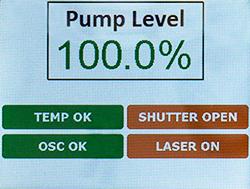 FSL1550 Display Screen