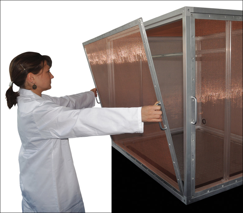 Faraday Enclosures Sized For Sciencedesks