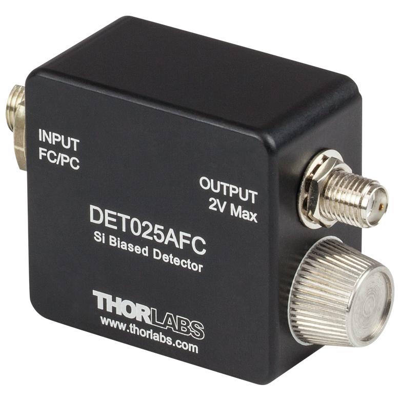 High-Speed Fiber-Coupled Detectors