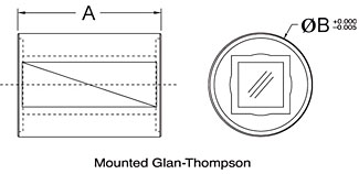 GT Mounted Drawing