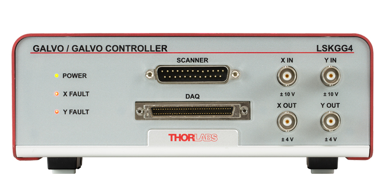 Galvo-Galvo Scan Head and Controller