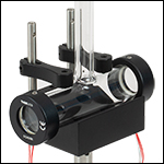 Glass Spectroscopy Cell with Heater