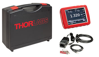 Laser Energy Meters : Touch screen handheld optical power and energy meter console