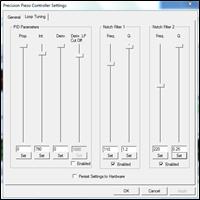Piezo Objective Scanner GUI
