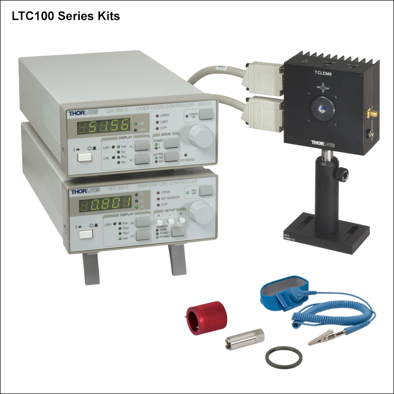Temperature Controlled Mount For 216 5 6 Mm Or 216 9 Mm Laser Diodes