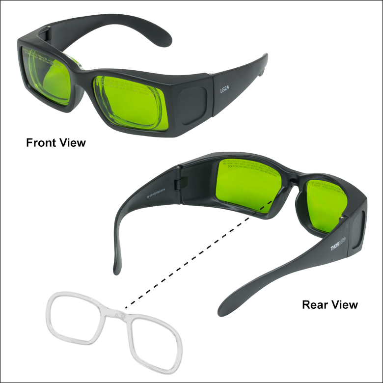 Certified Laser Safety Glasses