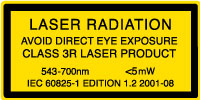 Class 3R Laser Product