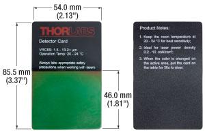 VRC6S Card Dimensions