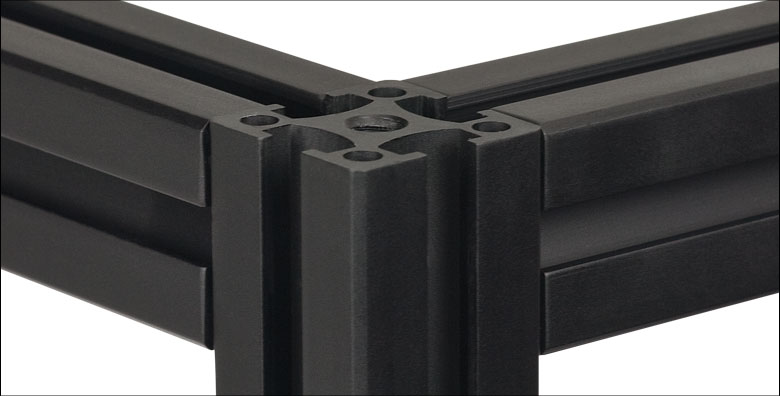 Cubes And Brackets For 25 Mm Rails