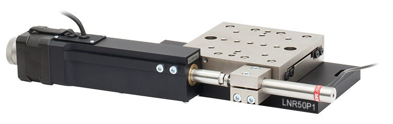 Thorlabs TravelMax LNR50SE//M Motorized Linear Translation Stage 50mm Range