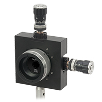 Pinholed Mounted in Zoom Housing and XY Translator