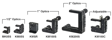 Kinematic Mounts for Rectangular Optics