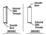 SM2AB1 and SM2AB2 Mechanical