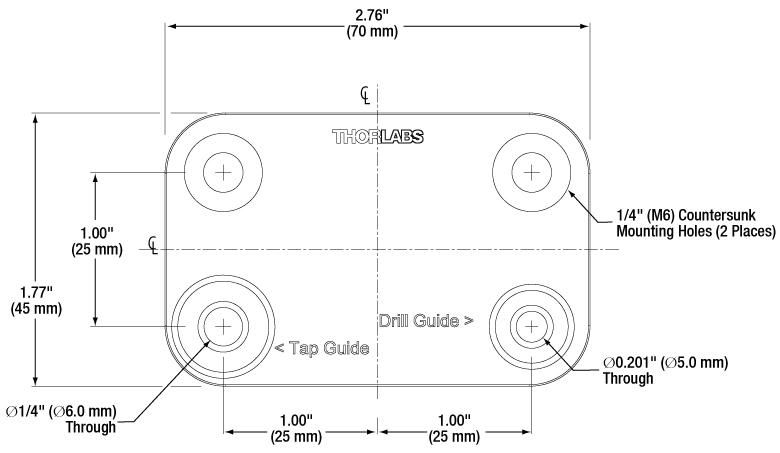 tap machine dimensions