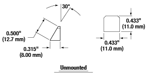 Schematic of Unmounted Anamorphic Prism Pairs