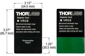 VRC6 Card Dimensions