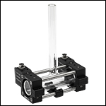 Ø25 mm Glass Cell in Heater Assembly
