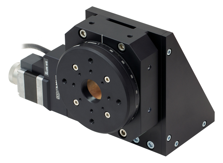 Heavy-Duty Rotation Stage with Stepper Motor