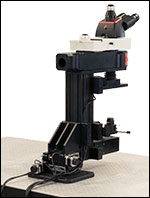 Microscope Mover on Vertical Support Rail