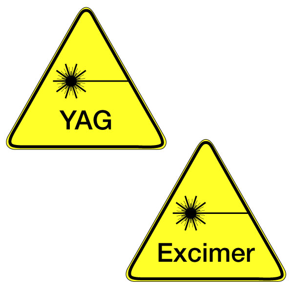 For Excimer and YAG Lasers