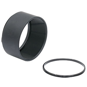 SM2L10 - SM2 Lens Tube, 1in Thread Depth, One Retaining Ring Included