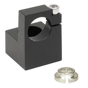 LM9F - Post-Mountable Laser Diode Mount for Ø5.6 mm and Ø9 mm Packages, #8 (M4) Counterbore