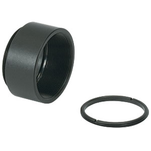 SM1L05 - SM1 Lens Tube, 0.5in Thread Depth, One Retaining Ring Included