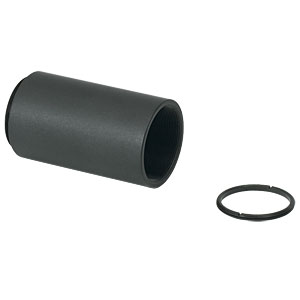 SM1L20 - SM1 Lens Tube, 2.00in Thread Depth, One Retaining Ring Included