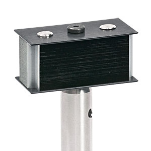 LB1/M - Beam Block, 400 - 700 nm, 10 W Max Avg. Power, CW Only, Includes TR75/M Post