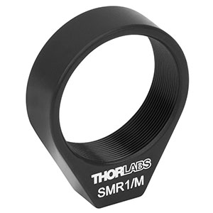 SMR1/M - Ø1in Lens Mount with SM1 Internal Threads and No Retaining Lip, M4 Tap