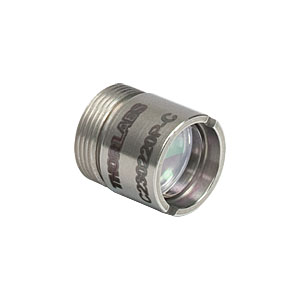 C230220P-C - Mounted Aspheric Lens Pair, 0.55 NA/0.25 NA for 1050 - 1620 nm