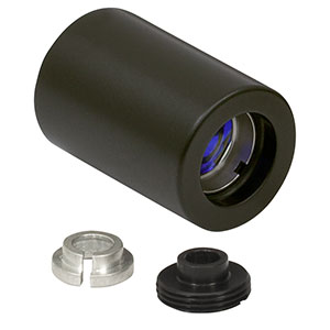LT110P-B - Collimation Tube with Optic for Ø5.6 and Ø9 mm Laser Diodes, f = 6.24 mm, NA = 0.40, AR Coated: 650 - 1050 nm