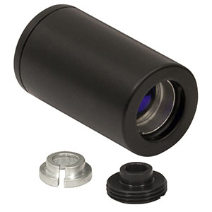 LT220P-B - Collimation Tube with Optic for Ø5.6 and Ø9 mm Laser Diodes, f = 11.0 mm, NA = 0.26, AR Coated: 650 - 1050 nm