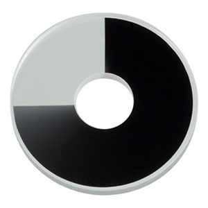 NDC-25C-4 - Unmounted Continuously Variable ND Filter, Ø25 mm, OD: 0-4.0