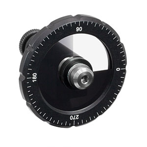 NDC-25C-2M - Mounted Continuously Variable ND Filter, Ø25 mm, OD: 0.04 - 2.0