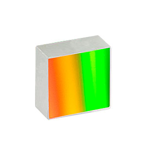 GR13-0610 - Ruled Reflective Diffraction Grating, 600/mm, 1 µm Blaze, 12.7 x 12.7 x 6 mm