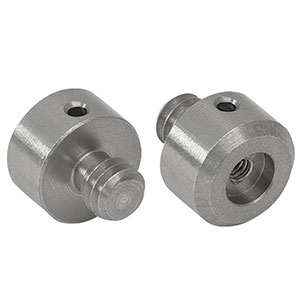 MSA25 - Thread Adapter,  External Stud to Internal, 1/4in-20 to 4-40